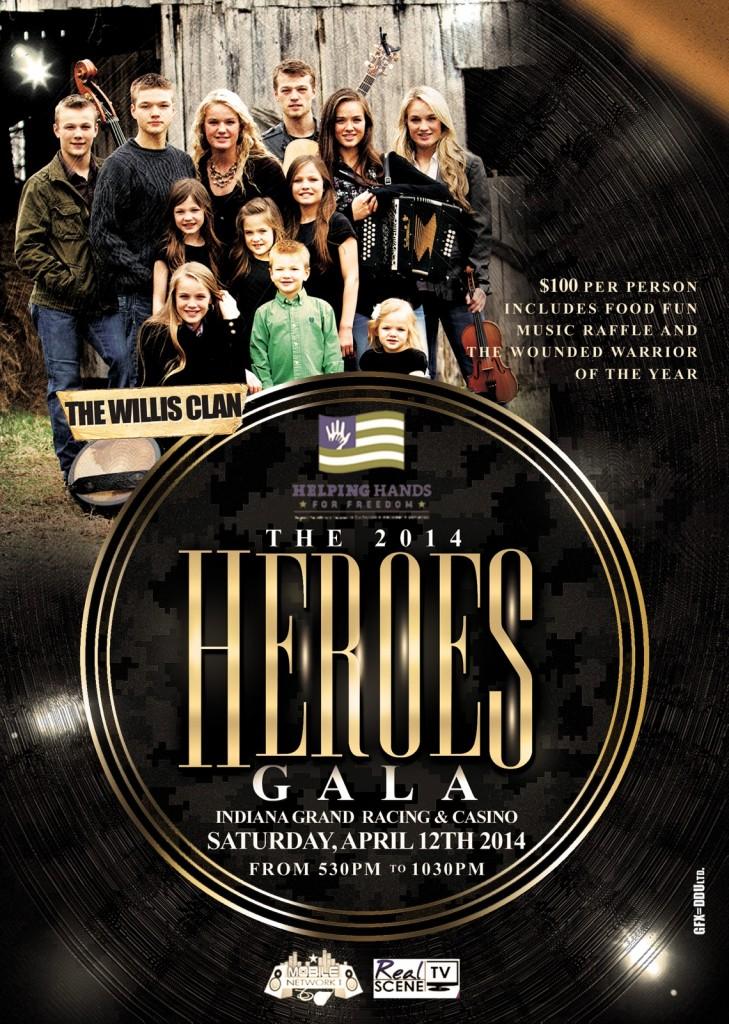 Heroes Gala Poster