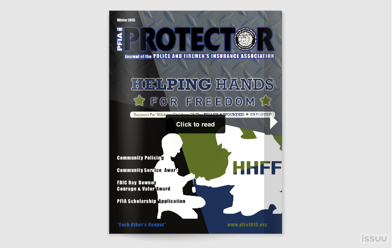 The PFIA Protector - Winter 2013